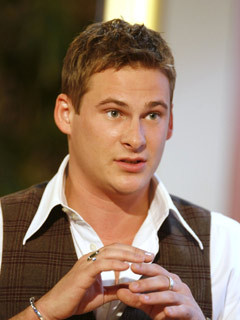 Lee Ryan on TODAY WITH DES AND MEL TV PROGRAMME, BRITAIN - 31 JAN 2006