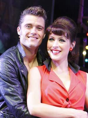 Ben Freeman and Jennifer Biddall | Ben Freeman and Jennifer Biddall star in the Dreamboats And Petticoats musical at the Savoy Theatre in London | Now Magazine | Celebrity Gossip | Pictures