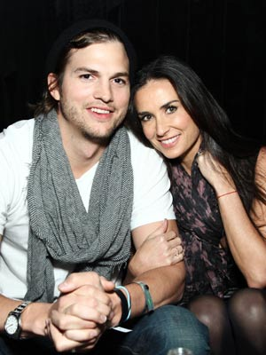 Demi Moore and Ashton Kutcher | Celebrity Gossip | Pictures | Photos | Gallery