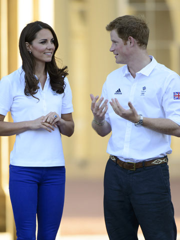 Kate Middleton and Prince Harry | London | Pictures | Photos | new | Celebrity News