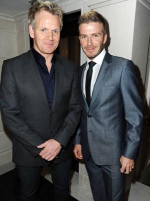 Gordon Ramsay and David Beckham | Bromance | Pictures | Photos | New | Celebrity News