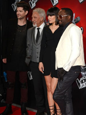 Danny O'Donoghue,Tom Jones, Jessie J, Will i Am | The Voice | Pictures | Photos | New | Celebrity News