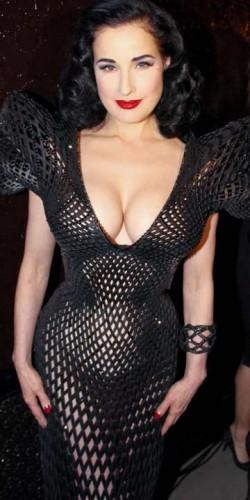 Ditta Von Teese| Celebrity fashion | Worst dressed | Pictures | Now | Fashion | New | Photos | Bad Style