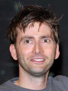 David Tennant sports trendy hair in November 2007