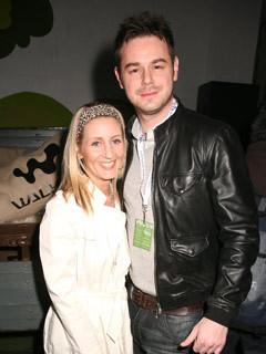 Danny Dyer and girlfriend Joanne Mas