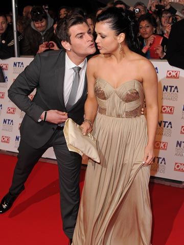 Matt Lapinskas and Shona McGarty | National Television Awards 2012 | Pictures | Photos | New | Celebrity News
