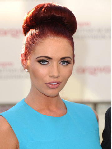 Amy Childs | TV Baftas | Victoria Beckham Dress | Hair news | Celebrity Gossip | Pictures