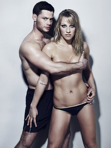 Chloe Madeley goes topless | Now magazine | New Pictures
