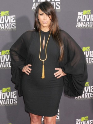 Kim Kardashian | MTV Movie Awards | 2013 | Pregnant