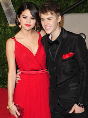 Selena Gomez and Justin Bieber | Oscars 2011: The parties | Oscars | Pictures | Photos | New