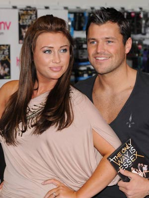 Lauren Goodger and Mark Wright | The Only Way Is Essex DVD Launch | The Only Way Is Essex | Photos | Pictures | Gallery | New | Now magazine