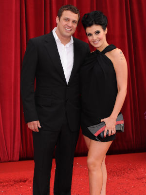Jamie Lomas and Kym Marsh  | British Soap Awards 2011 | Pictures | Photos | Star Style | Celebrity fashion | Dress | Dresses