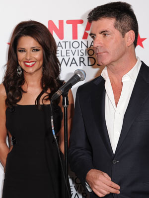 Cheryl Cole and Simon Cowell   Pictures   Photos   Celebrity gossip   Now Magazine