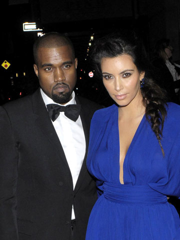 Kanye West and Kim Kardashian | Pictures | Photos | New | Celebrity news