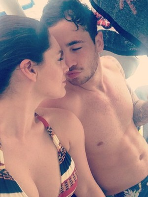 Kelly Brook and Danny Cipriani | Instagram | Tobago | Pictures | Photos | New | Celebrity News
