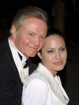 Angelina Jolie and Jon Voight | Celebrity dads | Pictures | Now Magazine | Celebrity Gossip | Fashion | News | Photos