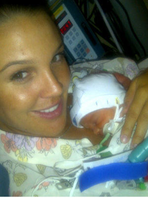 Danielle Lloyd and baby Harry James | New | Pictures | Photos | Celebrity News | Now Magazine
