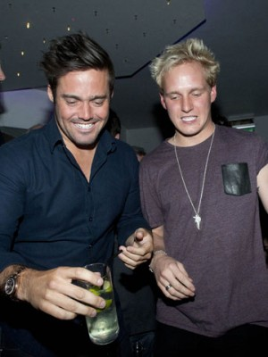 Spencer Matthews and Jamie Laing