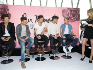 One Direction and Laura Whitmore | Our Moment Perfume Launch | Pictures | Photos | New | Celebrity News