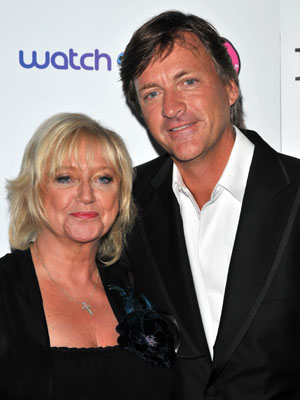 Richard Madeley and Judy Finnigan play happy families