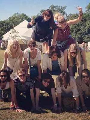 Alexa Chung, Pixie Geldof and Peaches Geldof  Instagram | Glastonbury | Pictures | Photos | New | Celebrity News