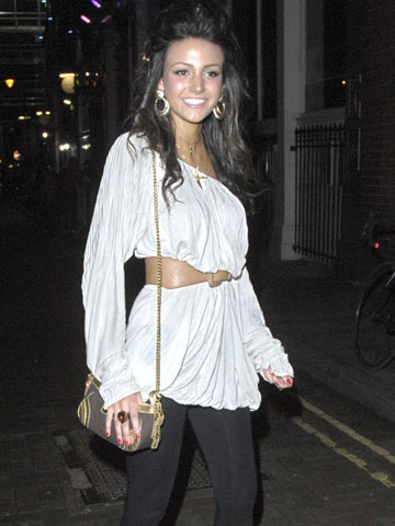 dbb99bf8f01 Michelle Keegan Style File: The sexy soap star's fashion looks ...