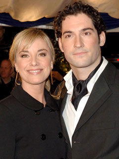 omg tom ellis confessed to tamzin outhwaite that he d
