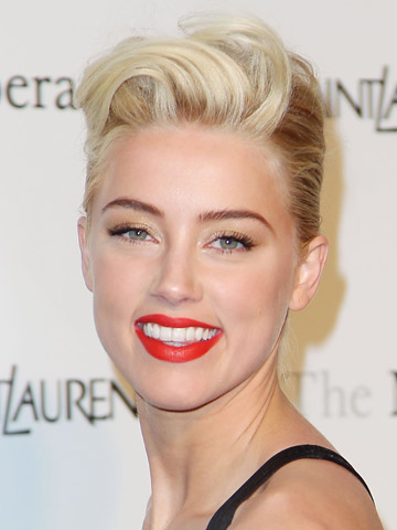 Amber Heard | Celebrity hair | Pictures | Photos | News | Celebrity News