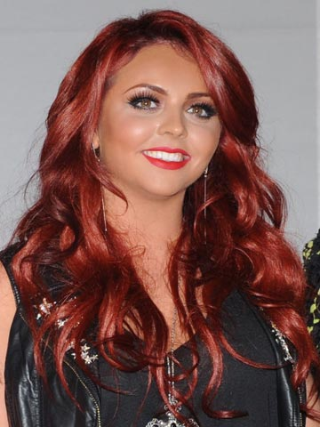 Jesy Nelson | Celebrity hair at the Brit Awards 2012 | Pictures | Photos | New | Celebrity News