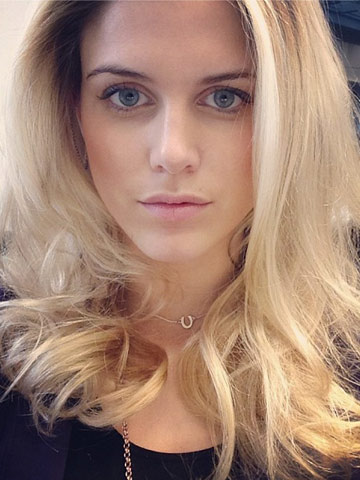 Blonde And Bouncy Made In Chelsea Star Ashley James