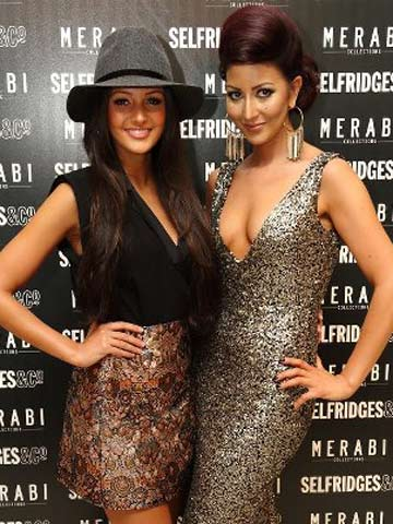 34ba92a7c79 Michelle Keegan s favourite dress designer Nadine Merabi launches ...