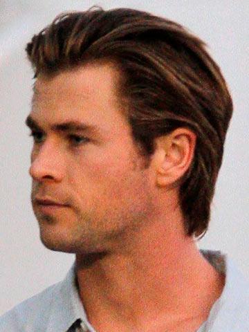 Astonishing Short Vs Long Male Celebrity Hairstyles Hot Star Men Grow Their Hairstyles For Men Maxibearus
