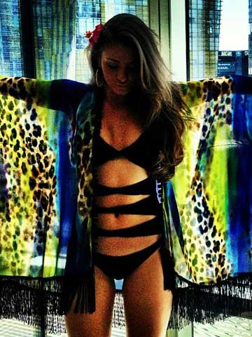 Brooke Vincent Shares Pictures Of Sexy Bikini Body And