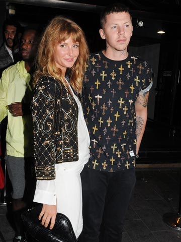 Professor Green Welcome Me Home Es Pro And Bride Millie Mackintosh Get Inropriate On Gin Flying For Night Out Celebsnow