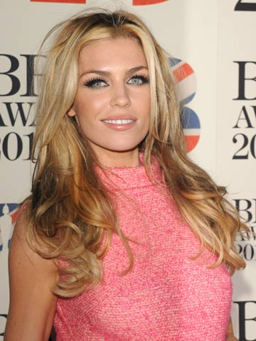 Abbey Clancy | Celebrity hair at the Brit Awards 2012 | Pictures | Photos | New | Celebrity News