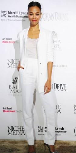 Zoe Saldana | New Looks We Love | Fashion | Pictures | Photos | New | Celebrity News