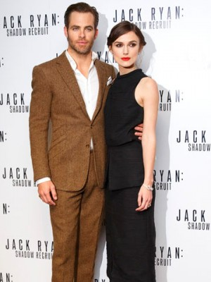 Chris Pine and Keira Knightley   Pictures   Photos   New   Celebrity News