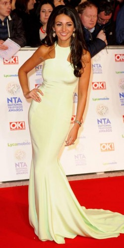 Michelle Keegan | National Television Awards 2014 | Pictures | Photos | New
