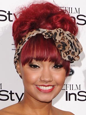 Little Mix's Leigh-Anne Pinnock   Celebrity hair   Pictures   New styles   Latest   Hair   Now   Photos   Hairstyles