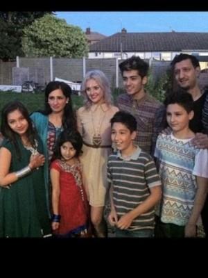 Zayn Malik and Perrie Edwards | Pictures | Celebrating Eid | Now magazine