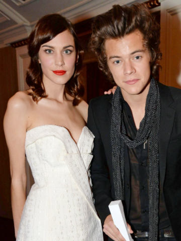 Alexa Chung: Poor Harry Styles must spend the whole time ... Harry Styles Hair 2014