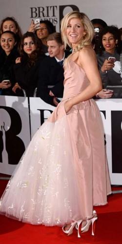 Ellie Goulding   Brit Awards 2014   Pictures   Photos   New   Celebrity News