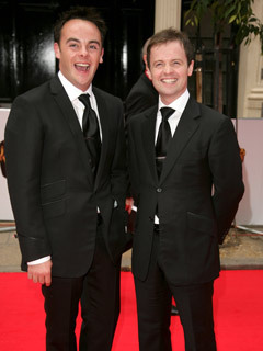 Ant McPartlin and Declan Donnelly at Bafta TV Awards, London Palladium, London, Britain - 20 May 2007