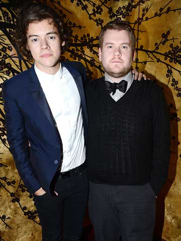James Corden 700 One Direction Fans Found Me And Harry Styles In