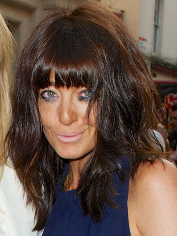 Omg Claudia Winkleman Goes Wild And Gothic At Gq Men Of