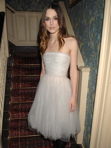 Keira Knightley Wedding Dress