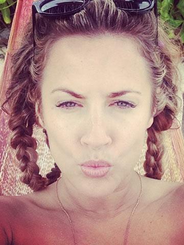 Caroline Flack Kylie Minogue Has The Greatest Ass But I