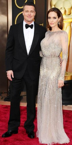 Brad Pitt and Angelina Jolie | Oscars 2014 | Pictures | Photos | New | Celebrity News