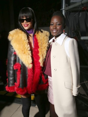 Rihanna and Lupita Nyong'o | Celebrity Spy | Pictures | Photos | New | Celebrity News