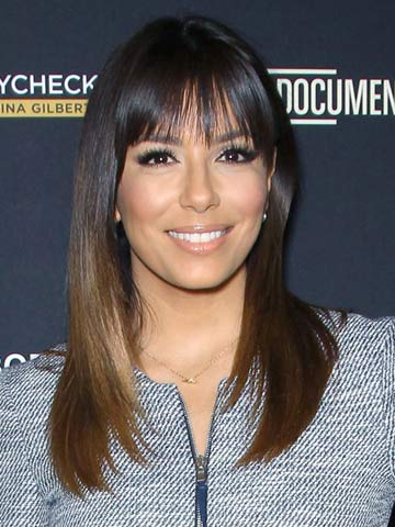 Hot New Hair Eva Longoria Reveals Sexy Dark Shade And